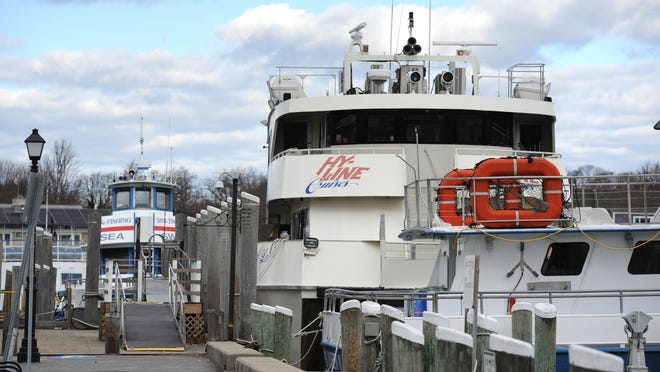 Hyannis Harbor Tours, the company that owns Hy-Line Cruises, is suing Hy-Line's biggest shareholder, Skip Scudder, over his failure to submit a CORI check needed to secure a liquor license for the ferry line's cafe.