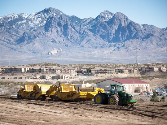 Construction Near the East Mesa (2)