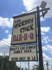 The Hickory Stick in Shreveport.