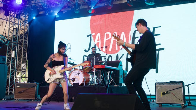 National indie-rock group Japanese Breakfast, led by singer-songwriter Michelle Zauner, will play a free concert at Dogfish Head in Rehoboth Beach at 10 p.m. Friday, Nov. 16. The show is part of Dogfish's yearly Analog-A-Go-Go event.