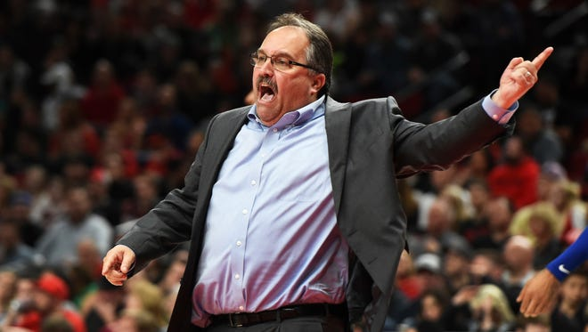 Stan Van Gundy has one year remaining on his 5-year contract signed in 2014.
