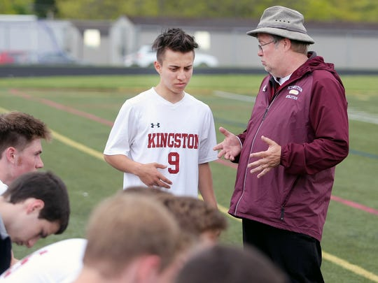 Kingston boys soccer coach Craig Smith and the Buccaneers reached the Class 2A state quarterfinals last season.