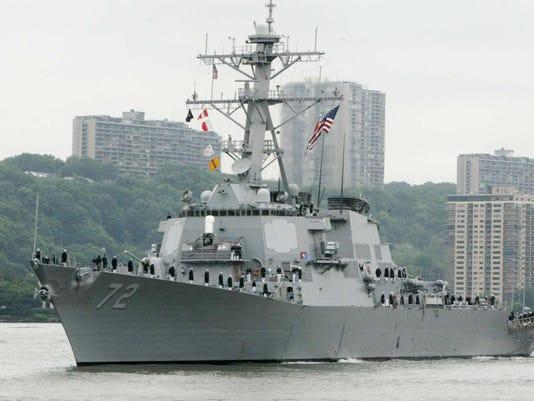Naval Station Shooting