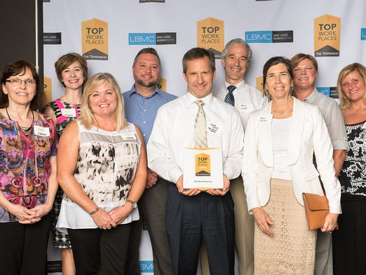 Check out Nashville's Top Workplaces for 2016