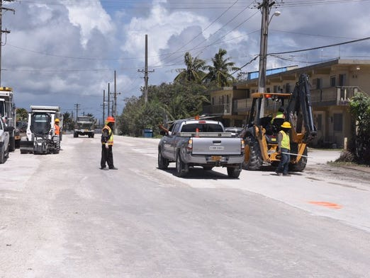 Department of Public Works employees continue improvement