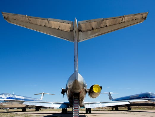 The Boneyard Where Airlines Send Old Planes To Be Scrapped