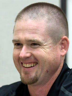 Delone Catholic head coach Corey Zortman.
