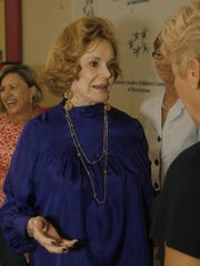 Barbara Sinatra at the Barbara Sinatra Children's Center in Rancho Mirage.