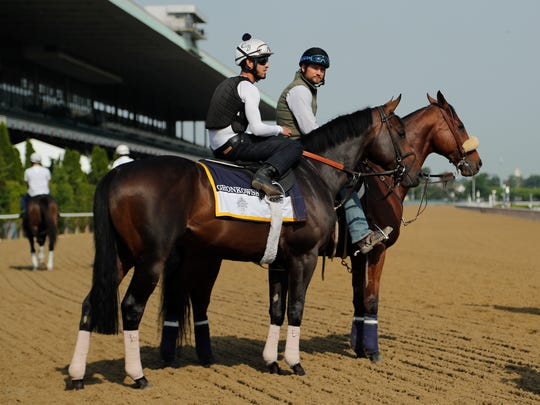 Belmont Stakes hopeful Gronkowski pauses before working