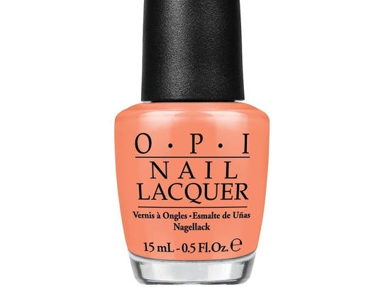Is Mai Tai Crooked? by O.P.I. $9.50. To find stores, www.opi.com.