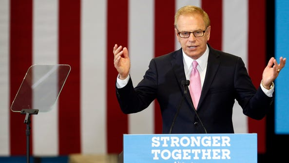 Ted Strickland, the Democratic candidate for Senate