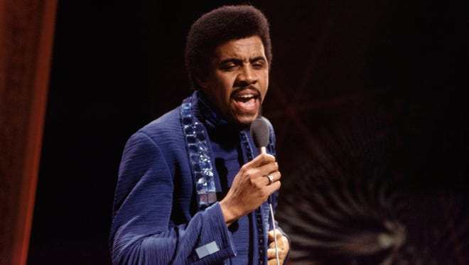 """Jimmy Ruffin appears on the British TV show """"Top of the Pops"""" in this undated photo."""
