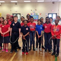Cherokee Elementary students Jumped Rope for Heart on Friday and raised money for the American Heart Association.