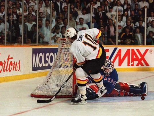 Rangers 1994 Stanley Cup Final Richter