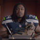 Marshawn Lynch appeared in a strange Xbox One commercial.