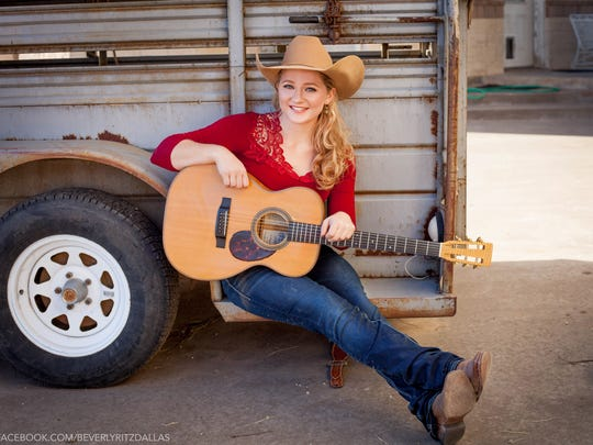 2018 American Idol contestant and country musician Kristyn Harris  performed at the C.M. Russell Museum's FIrst Strike auction Friday night.