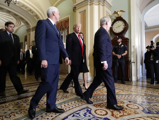 Donald Trump,Mike Pence,Mitch McConnell