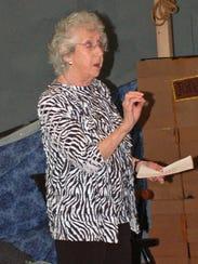 Holocaust survivor Maud Dahme spoke at The Pennington