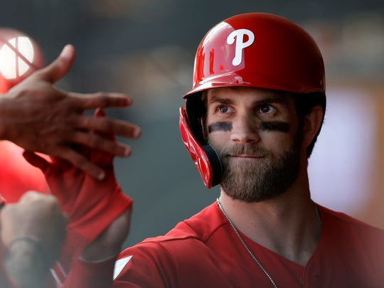 Bryce Harper was one of the big free-agent prizes of the off-season.