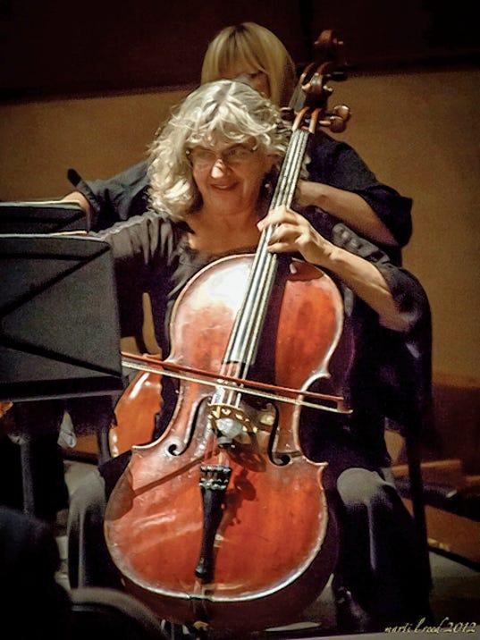 Cellist Joan Zucker.