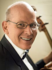 Jonathan Spitz, principal cellist with the NJ Symphony Orchestra, will perform in tandem with violinist Brennan Sweet at St. Paul's Episcopal Church in Westfield on Feb. 14.
