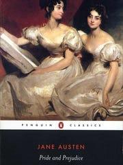 """Pride and Prejudice""by Jane Austen."