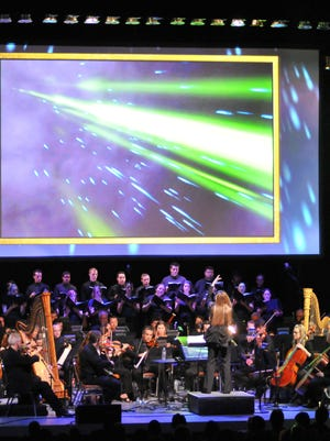 Video game images and music is proving a popular draw in concert halls.