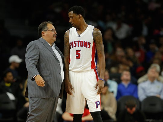 Kentavious Caldwell-Pope has become coach Stan Van Gundy's go-to defensive stopper.