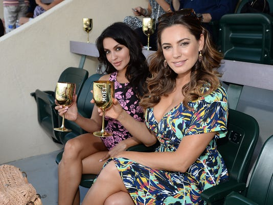 The Moet and Chandon Suite at the 2015 BNP Paribas Open - Day 6