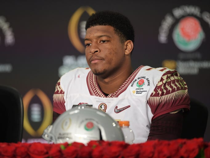Florida State Seminoles quarterback Jameis Winston