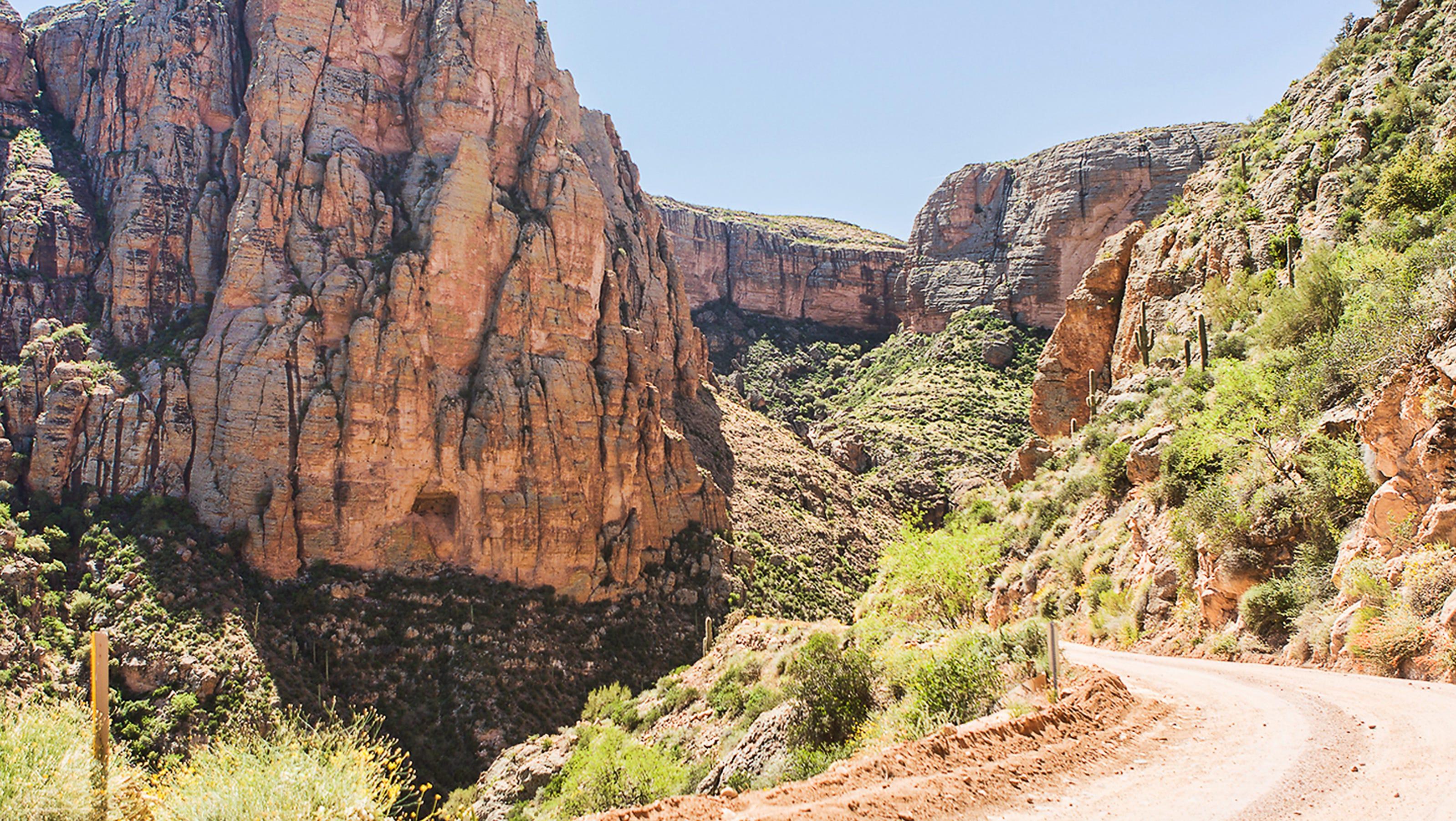 Arizona Scenic Drive Apache Trail