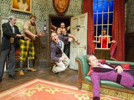 """""""The Play That Goes Wrong"""" received a nomination for"""