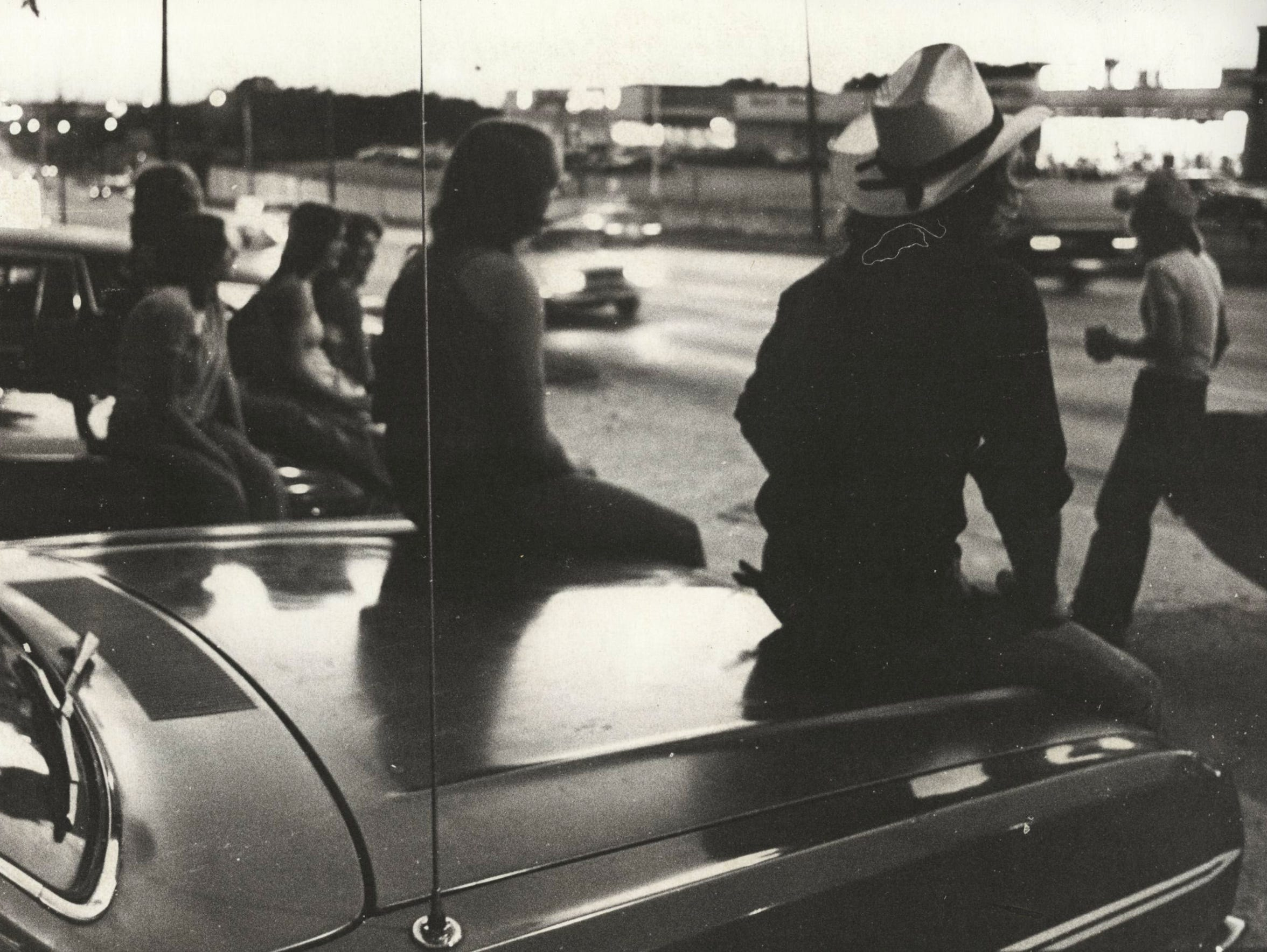 Cruising on Kearney Street on August 1, 1979.