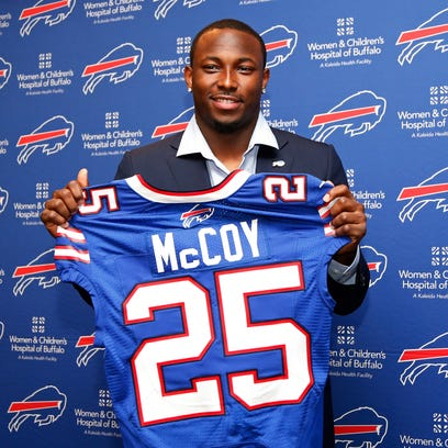 Bills running back LeSean McCoy