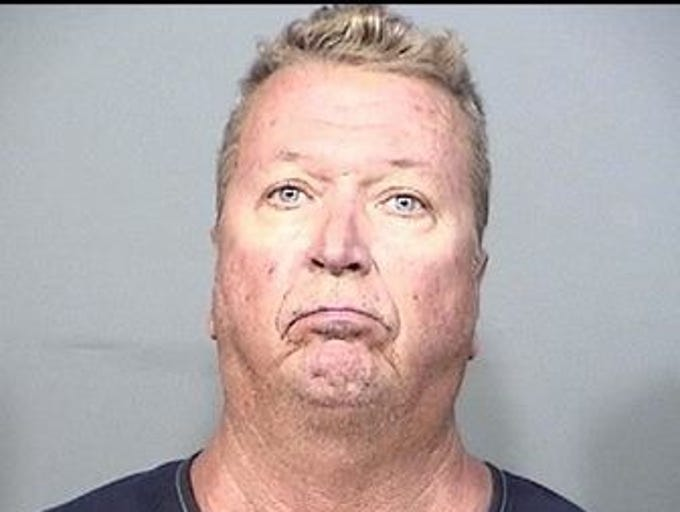 Mark Uffelman, 59, of Cocoa Beach, charges: Battery