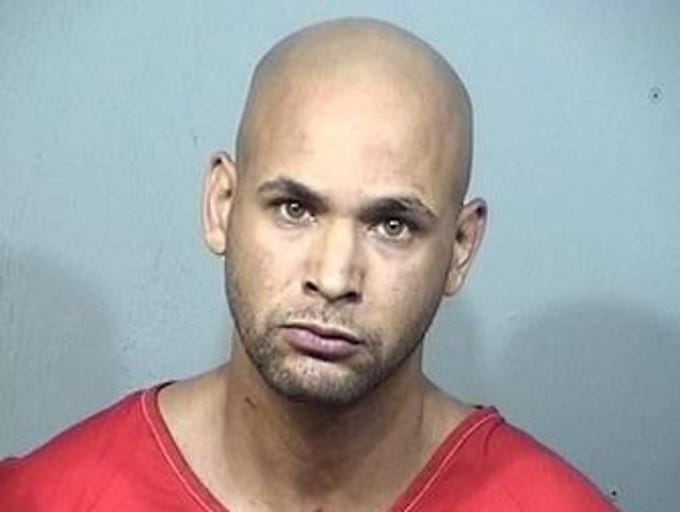 Maurice Murphy, 35, of Titusville, charges: Battery