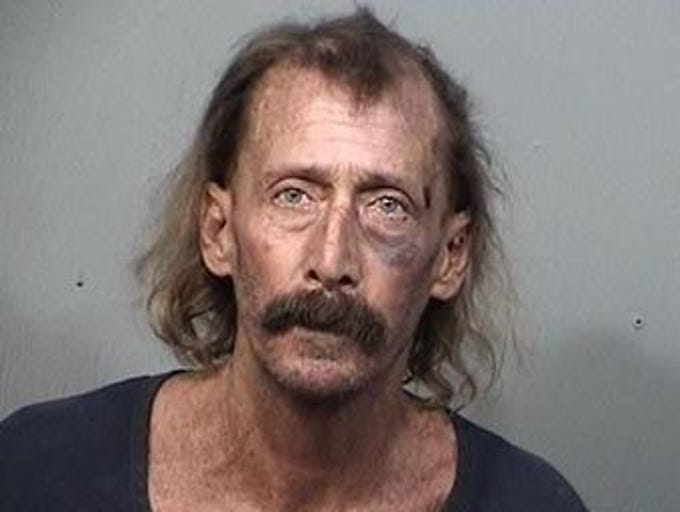 Richard Blakeslee, 61, of Melbourne Beach, charges:
