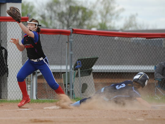 The Pioneers' softball team was right around the middle of the pack last season. They finished the year 10-10, fifth in the SVC with a 5-9 league record, and lost to Huntington 3-2 in the sectional finals.