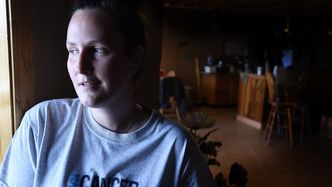 Jessica Kennedy, 29, of Oakland is battling cervical cancer and at the same is trying to get pregnant. Doctors have given her a three month window to get pregnant via in vitro fertilization before she needs a hysterectomy.