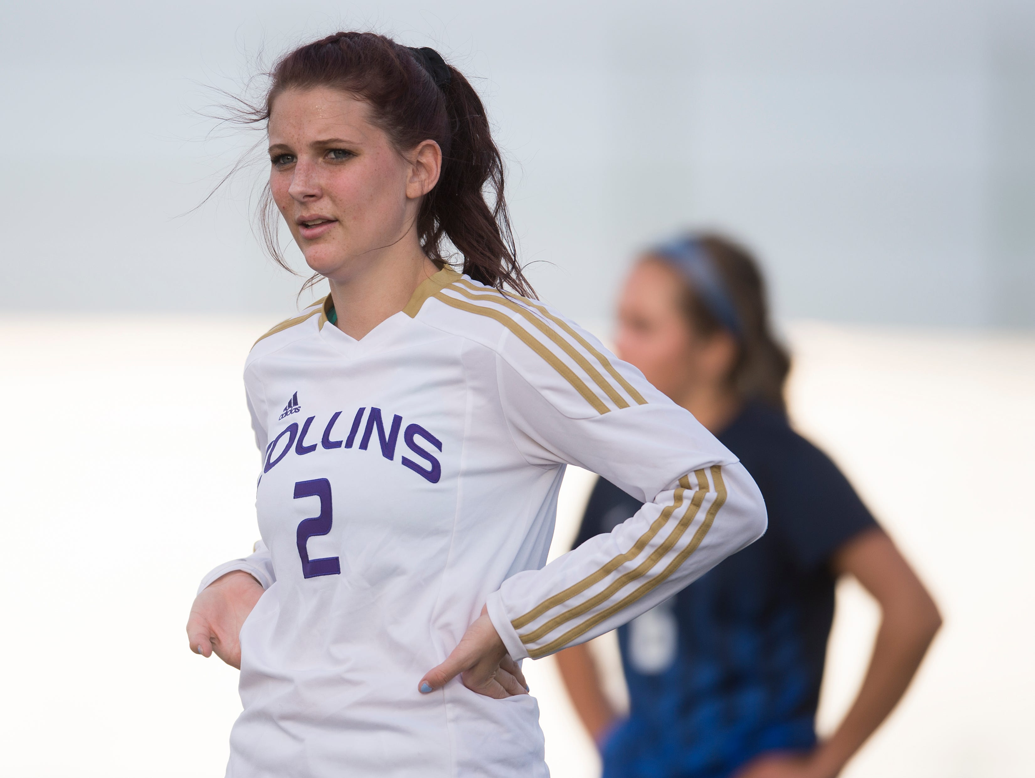 Fort Collins' Nicole Dietrich scored two goals and assisted on a third Thursday night in the Lambkins' 3-0 win over crosstown rival Poudre at French Field.