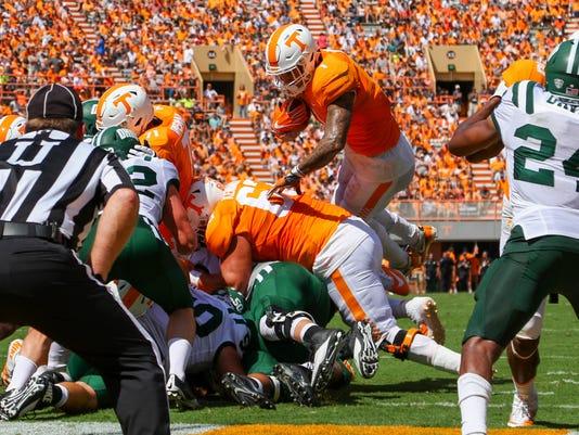 NCAA Football: Ohio at Tennessee