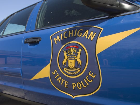 A man died crossing M-14 on foot Saturday evening around 9:40 p.m., police said in a press release.