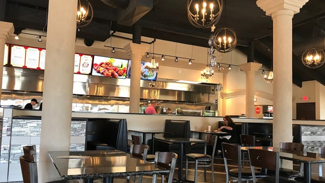 The new Pita Palace Mediterranean Cuisine, 789 W. Layton Ave., combines a polished dining room with counter service.