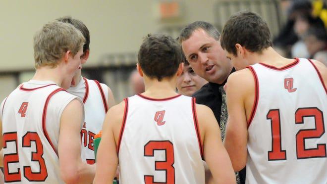 Dennis Ruedinger returns to the Lourdes Academy basketball program. He spent 16 years as the head coach for the boys varsity program.