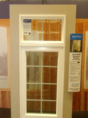 Jeld-Wen windows at Home Depot.