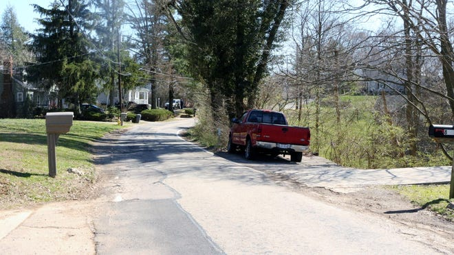 Parts of Martini Road narrow to one lane, which will mean delays for residents when work begins this summer