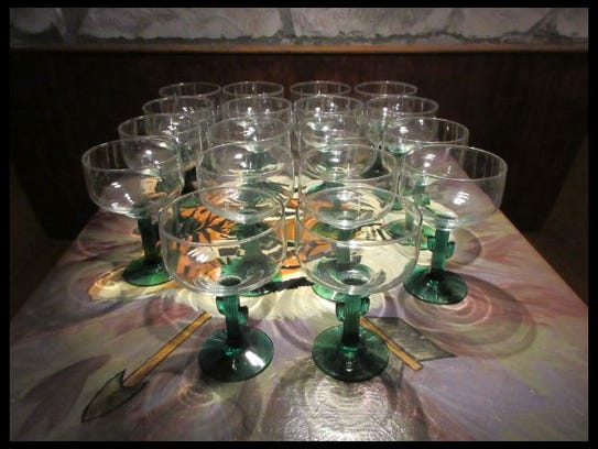 This set of margarita glasses can serve a sizable party