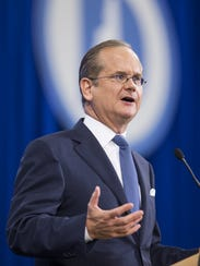 Harvard law professor Lawrence Lessig, who is advising