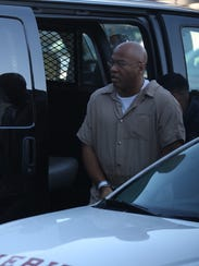 Richard Leon Wilbern arrives at Federal Court Monday,