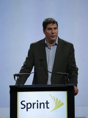 Sprint CEO Marcelo Claure speaks at the National
